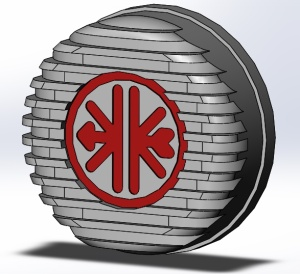 Ontstekingsdeksel DICHT Kreidler logo