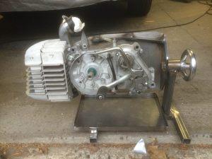 Black Mamba Parts Kreidler Motorsteun Motorhalter Engine Mount